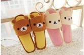rilakkuma korilakkuma indoor shoes slippers sandals