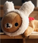 rilakkuma plush pencil case 3