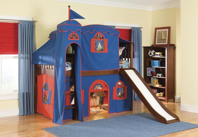 Kids Loft Bed With Slide Design Ideas Photos Rilane