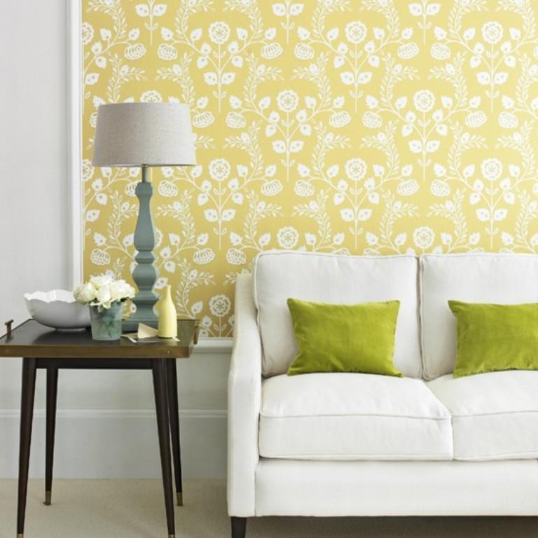 20 Sumptomous Living Room Wallpaper Designs