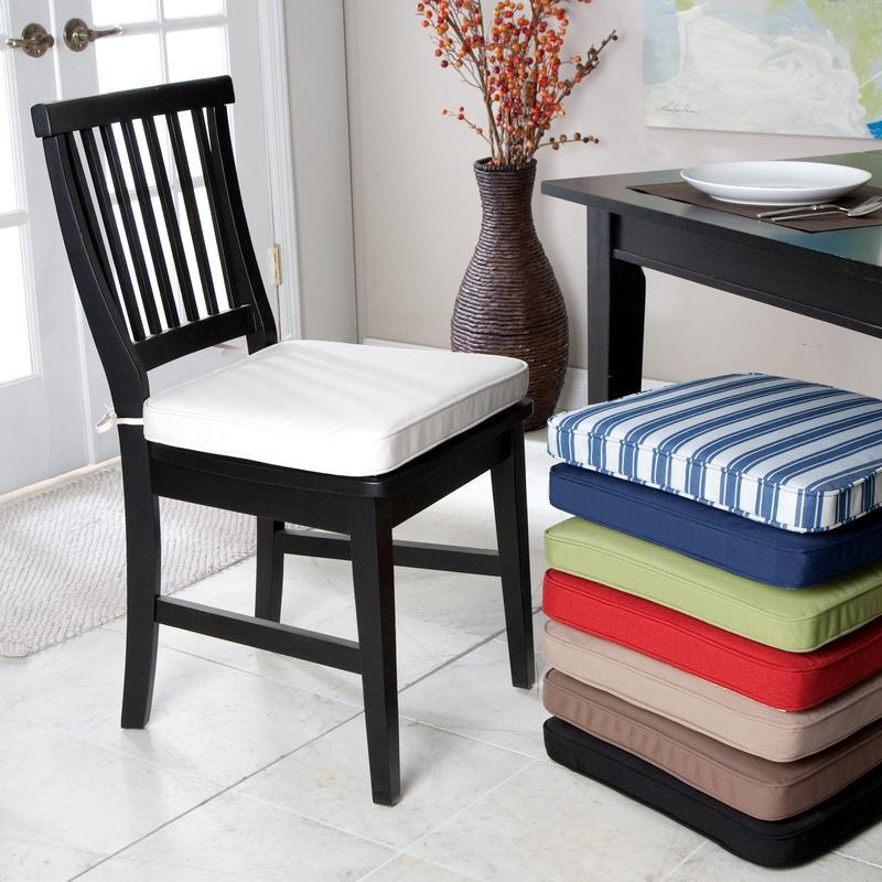 Kitchen chair cushions  inspiration photo  Rilane