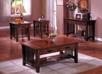 Mission style coffee table  photo, ideas - Rilane