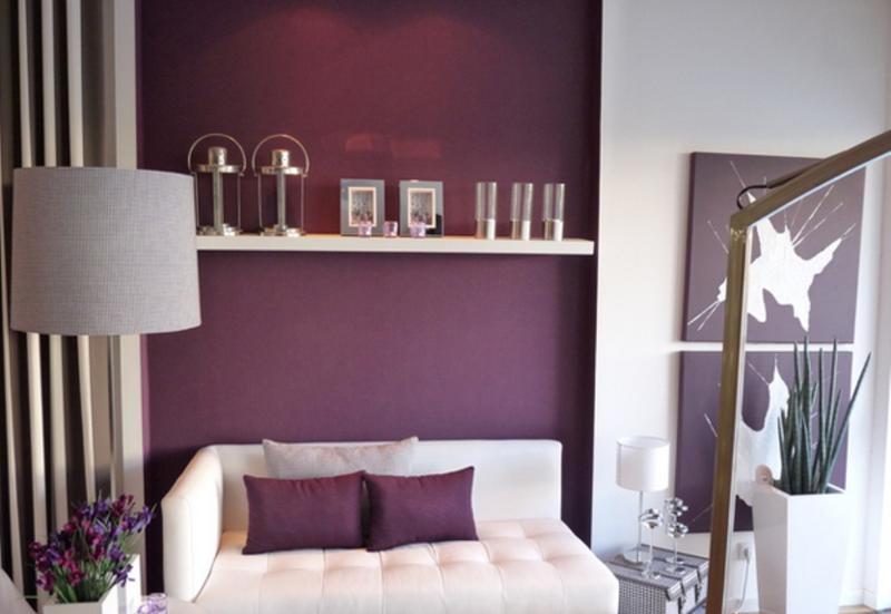 dark purple living room ideas luxury sofa 20 dazzling designs rilane contemporary