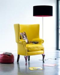 Fabolous Yellow Wingback Chair Design Ideas - Rilane