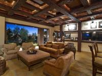 20 Living Room Designs with Exposed Roof Beams - Rilane