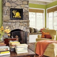 Pictures Of Living Rooms With Stone Fireplaces Gray Room Brown Couch Stunning Stacked Fireplace Rilane Craftsman