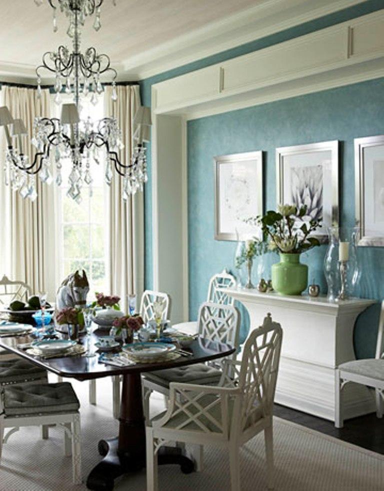 15 Radiant Blue Dining Room Design Ideas