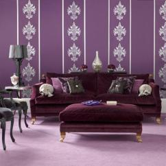 Grey And Purple Living Room Curtains Small Arrangements With Fireplace 20 Dazzling Designs Rilane Elegant