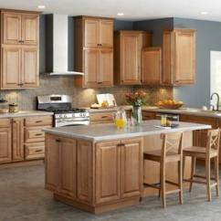 Oak Kitchen Cabinet Granite For Unfinished Designs Rilane