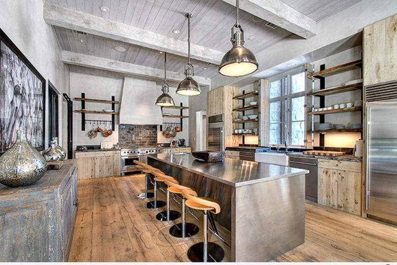 Whimsical Industrial Kitchen Design Ideas Rilane