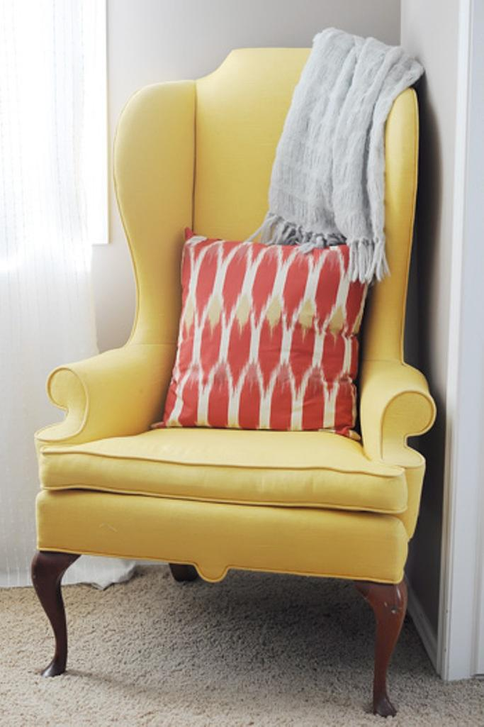 vintage rocking chairs swing chair south africa fabolous yellow wingback design ideas - rilane
