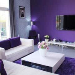 Purple Color For Living Room Accent Pillows 20 Dazzling Designs Rilane Minimalist