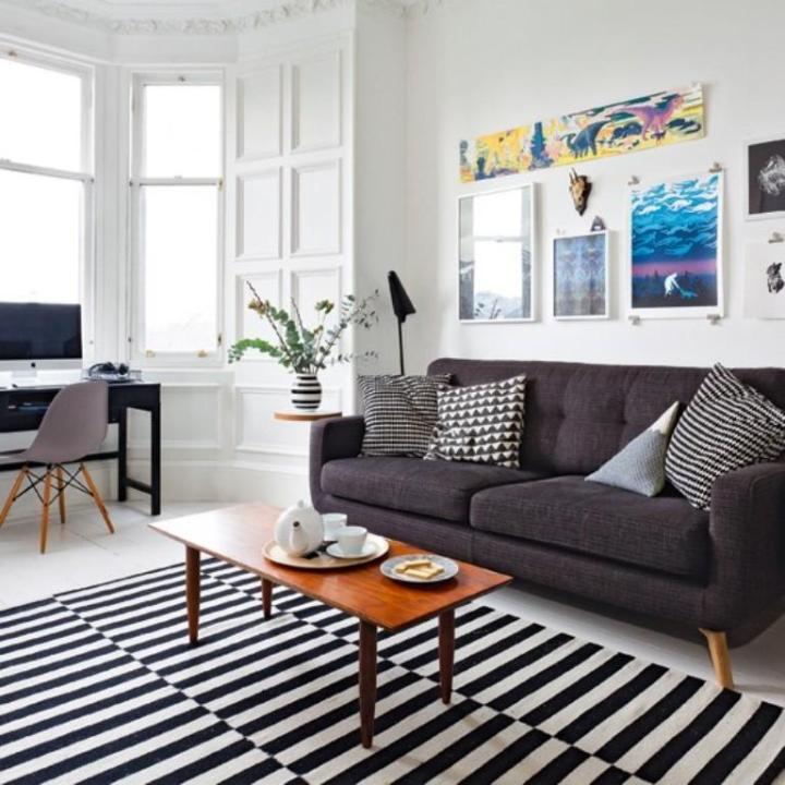 Monochromatic Living Room Adenauart Com