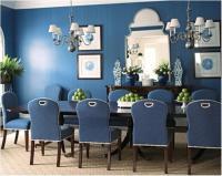 15 Radiant Blue Dining Room Design Ideas - Rilane
