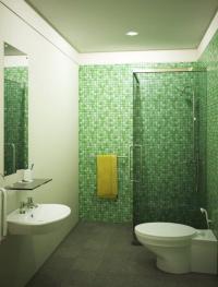 Refreshing Green Bathroom Design Ideas - Rilane