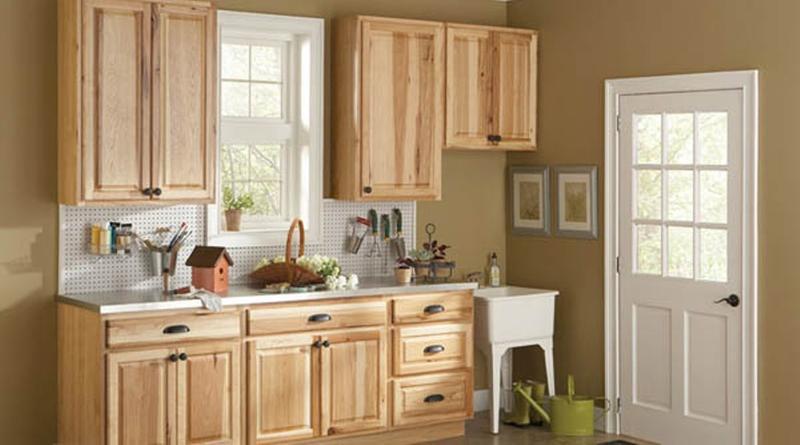 kitchen cabinet home depot brown backsplash 10 rustic designs with unfinished pine cabinets rilane natural image source