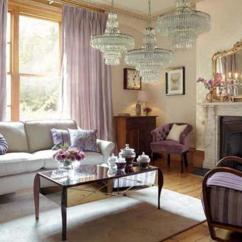 Purple Living Rooms Aqua Curtains Room 20 Dazzling Designs Rilane Soft