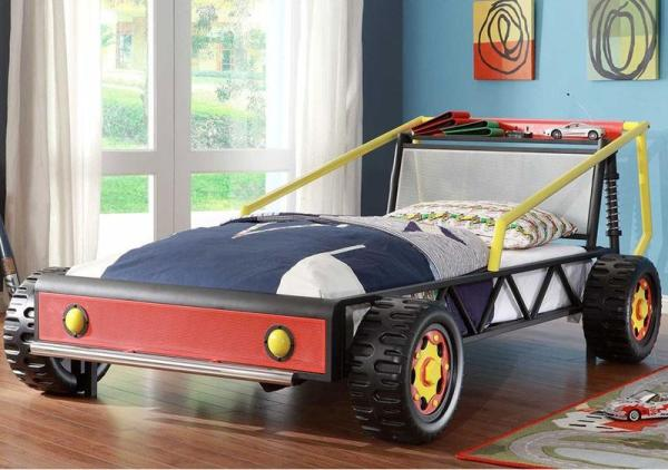 17 Awesome Car Inspired Bed Designs for Boys Rilane