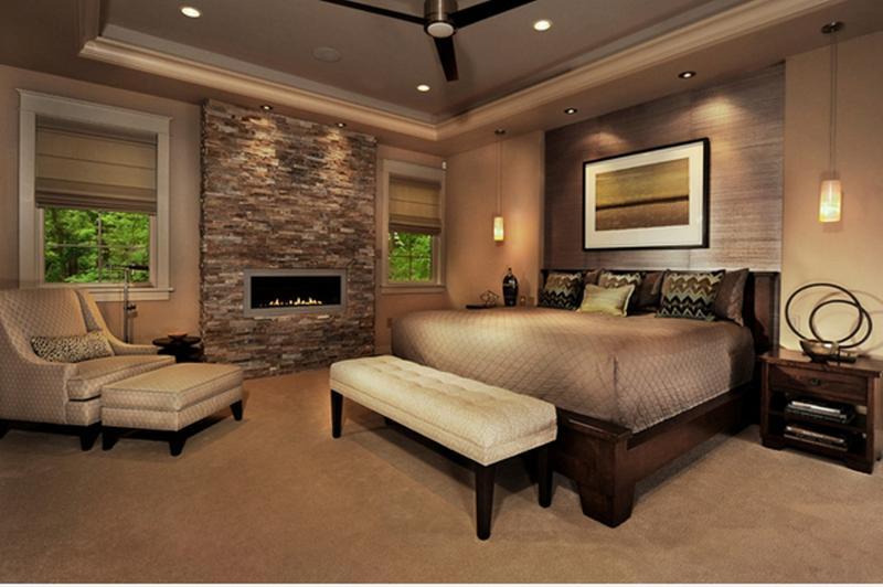 20 heartwarming bedroom ideas with fireplace - rilane