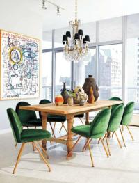 17 Captivating Eclectic Dining Room Designs - Rilane