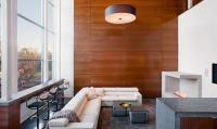 20 Charming Living Rooms With Wooden Panel Walls