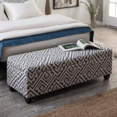 Red Leather Living Room Furniture Set Black And White Ideas 10 Beautiful Storage Ottoman Bench For The Bedroom ...