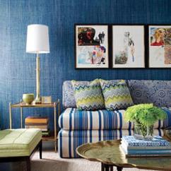 Blue Walls Living Room Sofas Zimbabwe 20 Radiant Design Ideas Rilane Noisy
