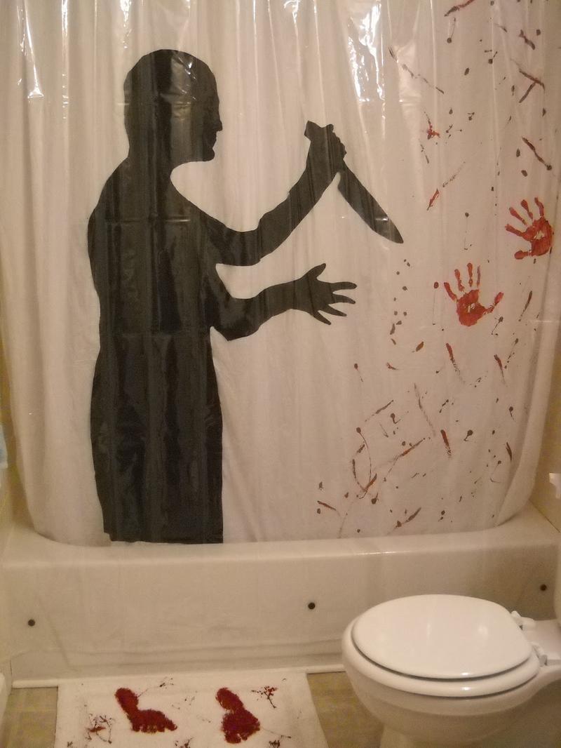Psycho Shower Curtain Ideas  Rilane