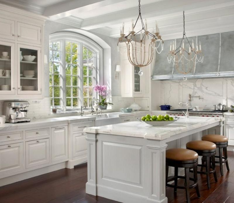 hampton bay kitchen cabinets dark wood 15 french inspired designs - rilane