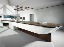 15 Extremely Sleek and Contemporary Kitchen Island Designs ...