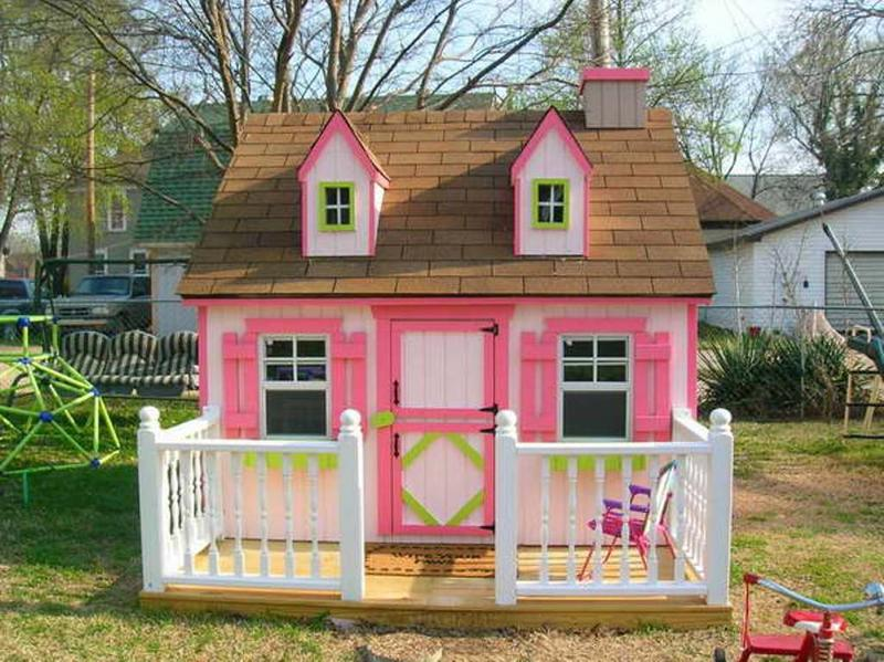 15 Amazing Outdoor Playhouse Ideas Rilane