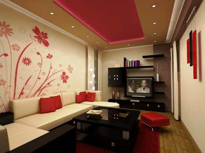 black and red living room decorating ideas best setup 15 white themed rooms rilane