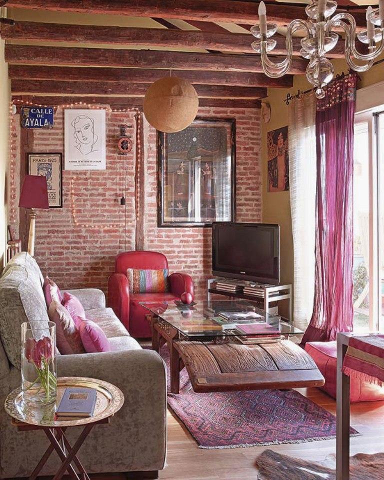 bohemian living room decor ideas beach 20 inspiring designs rilane bold