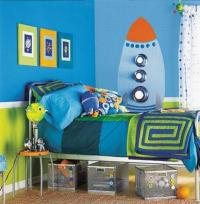 15 Fun Space Themed Bedrooms for Boys - Rilane