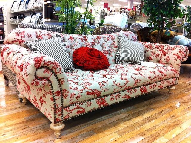 fl print sofa slipcovers spa flower fabric sofas foter - thesofa