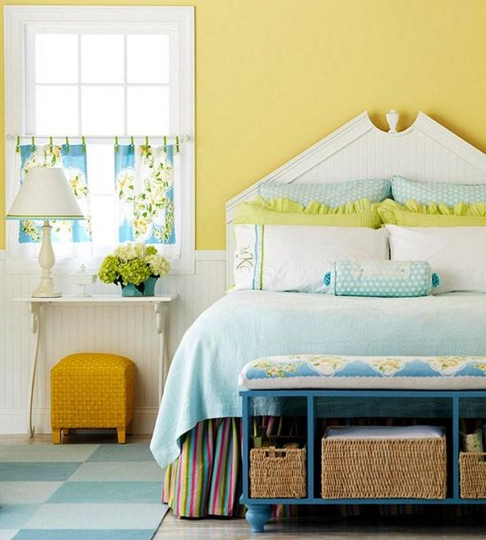 15 pleasant yellow bedroom design ideas - rilane