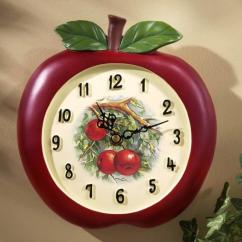 Kitchen Wall Clocks Seat Covers For Chairs 15 Fruity And Stylish Rilane
