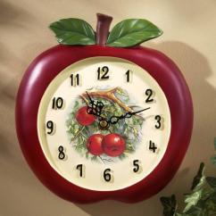 Kitchen Clocks Fridge 15 Fruity And Stylish Wall Rilane