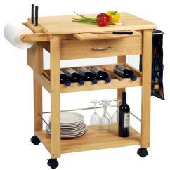 Wooden Kitchen Cart Kohler Coralais Faucet 10 Useful And Aesthetic Design Ideas Rilane Smart Wood