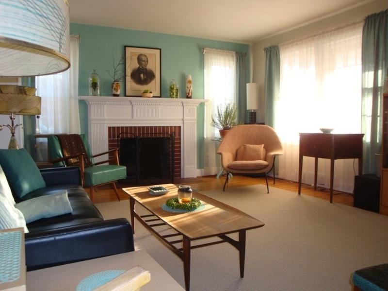 20 Captivating MidCentury Living Room Design Ideas  Rilane