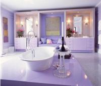 15 Charming Purple Bathroom Ideas - Rilane