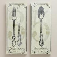 10 Fun and Creative Kitchen Wall Decor Ideas - Rilane