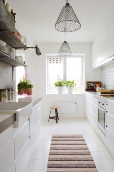 scandinavian white kitchen 15 Lovely and Inspiring Scandinavian Kitchen Designs - Rilane