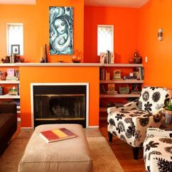 Orange Yellow And Brown Living Room Ideas Cozy Chic Rooms 15 Lively Design Rilane Vibrant
