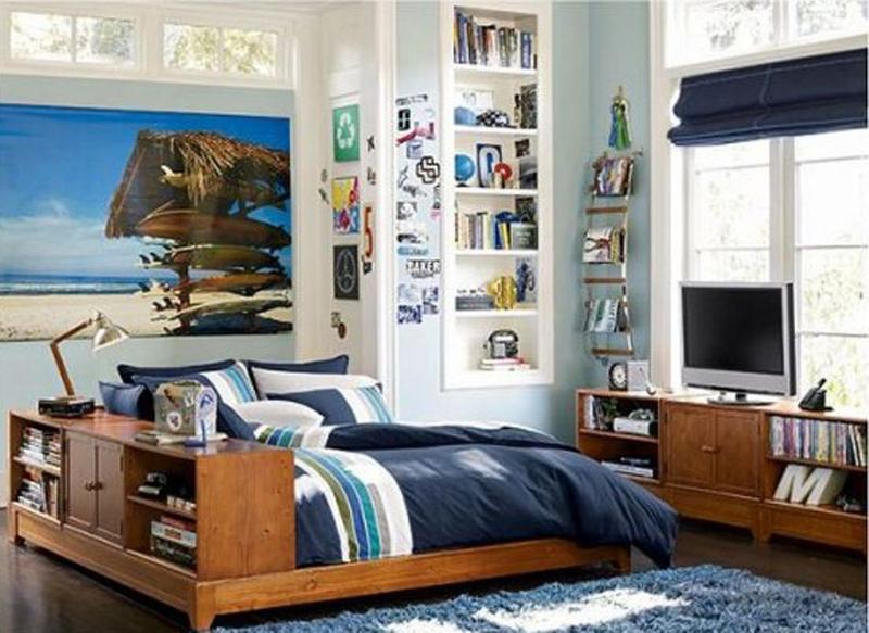 15 Inspiring and Fun Teen Boy Bedroom Design Ideas
