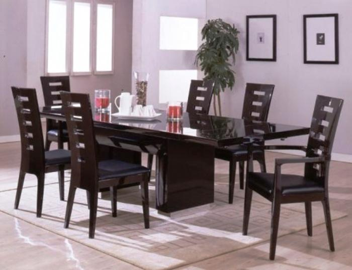 black living room chairs teal accessories uk 10 modern dining sets with awesome upholstery rilane