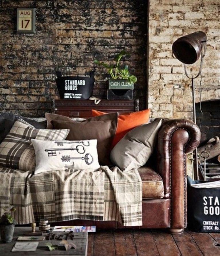 pictures of industrial living room