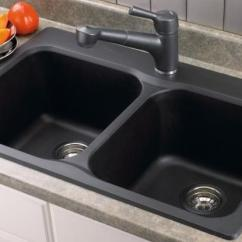 Brown Kitchen Sink Cabinet Ratings 10 Modern And Functional Sinks Rilane Small Black In Wooden Cabinets Tile Countertop Design