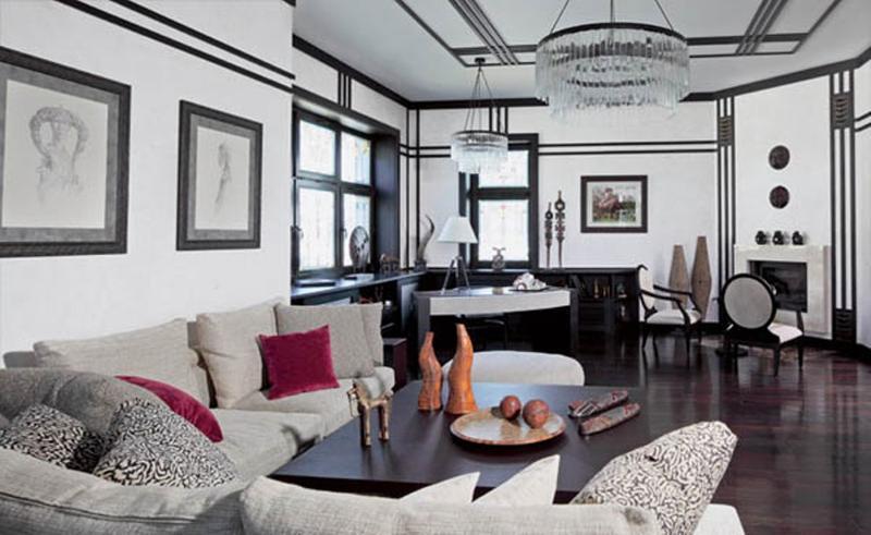 art deco living room ideas light grey carpet 20 bold inspired designs rilane noveou image source decor for all
