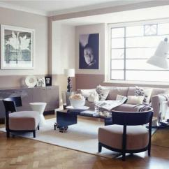 Art Deco Living Room Ideas Window Blinds 20 Bold Inspired Designs Rilane Muted Pink